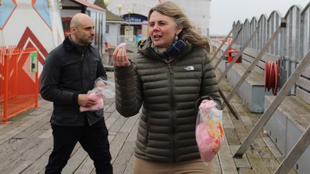 The episode of Antiques Road Trip at Clacton Pier will be screened on the BBC later in the year