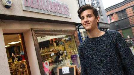 Gus Sanders very happy to be back working as Beaujangles reopens due to the easing of Covid restrict