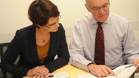 Chloe Smith MP and Mark Pendlington will be at Endeavour House to meet potential rail operators.