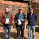 The de Feyter farming family are thejoint winners of the Holt andStalham malting barleychampionship