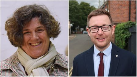Karen Ward and Duncan Baker have both stood down as councillors on North Norfolk District Council.