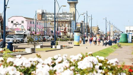 The Golden Mile in Great Yarmouth on a warm and sunny afternoon (photo: James Bass)
