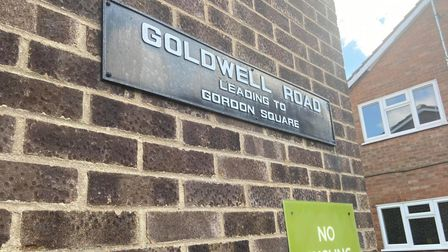 Police were called to Goldwell Road this morning after reports a man was in possession of a weapon