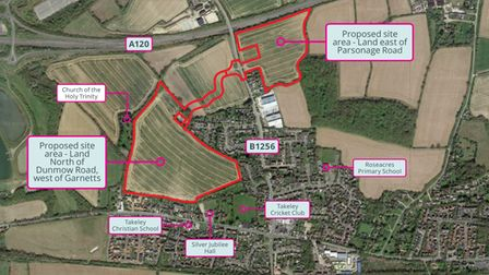 Endurance Estates has opened a virtual public consultation over land at Takeley