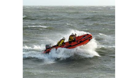 Exmouth RNLI lifesavers speed to the rescue