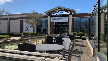 Glasswells store in Bury St Edmunds
