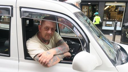 CabbieJoe Marribel...turned up in his taxi nightly for his bagels and hot salt beef.