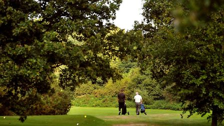 The Royal Norwich Golf Club in Hellesdon, which could make way for up to a thousand homes. Photo: B