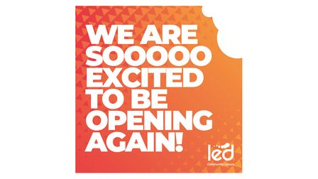 LED Community Leisure has reopened some of its hospitality venuss