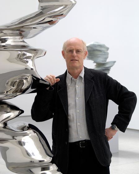 Sculptor Tony Cragg, whose are will go on display at Houghton Hall.