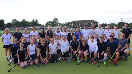 Harleston Magpies hockey club feature.Picture by SIMON FINLAY.