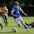Hethersett Academy student Gabriel Overton in action for Peterborough United's academy.