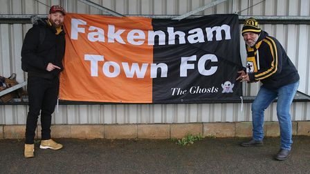 The ghosts are preparing for their delayed FA Vase fourth round fixture against Binfield