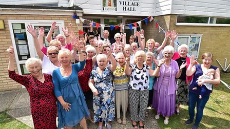 The Good Companions Club at Easton celebrating its 60th anniversary.Picture: ANTONY KELLY