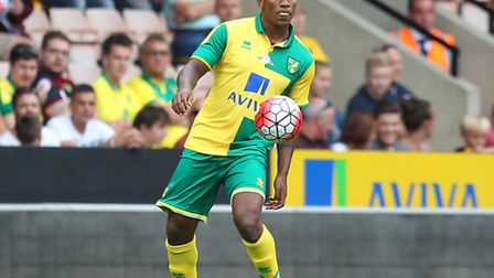 Andre Wisdom is the type of character Alex Neil wants at Norwich City. Picture by Paul Chesterton/Fo
