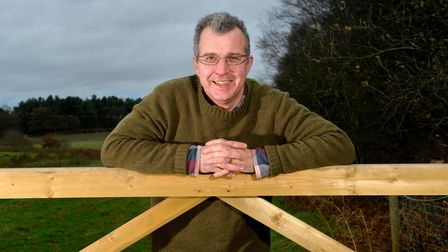 Farmer Tim Papworth & NFU Chair Potato forum East Angliapictured at his farm in Norfolk. Picture