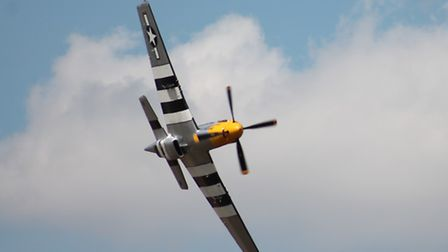 Some of the many fantastic planes on display at The Old Buckenham Airshow. Photo by Janet Cane. Phot