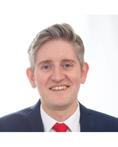Daniel Wilson, Labour Party candidate for the Exmouth ward