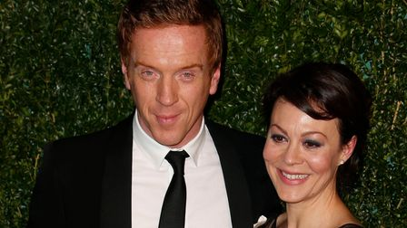 Damian Lewis and Helen McCrory arrive at the 60th London Evening Standard Theatre Awards at the Lond
