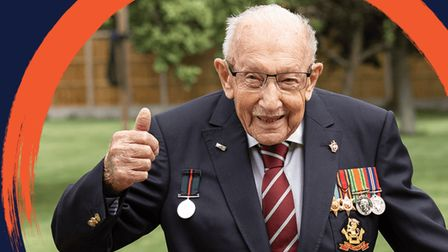 The LateCapt Tom Moore...knighted at 100 for raising £40m for 'NHS heroes'