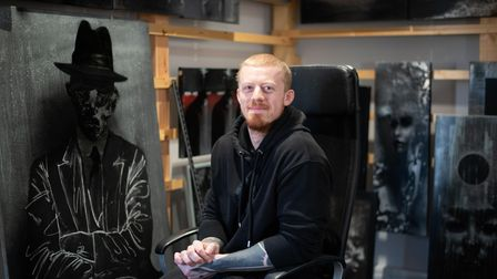 Luke Edgar and his girlfriend Kerry have opened a new art and tattoo studio in Lawford. As well as h