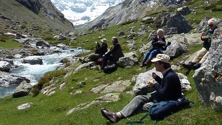 Picnic in French Pyrenees