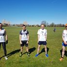 Barking Road Runners' men's A team at the Chingford League relay