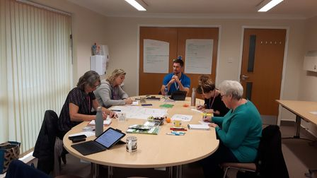 Physical Activity Champion training organised by Active Suffolk as part of the Active Wellbeing project