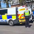 The suspectedpaedophilewas arrested onRobingoodfellowsLane in March on Sunday, April 18.