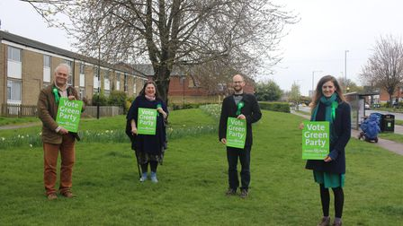 Cambridge Green Party candidates