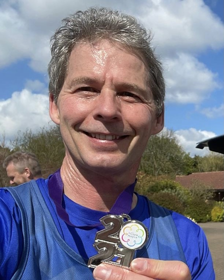 Lee Prowse of Grange Farm & Dunmow Runners