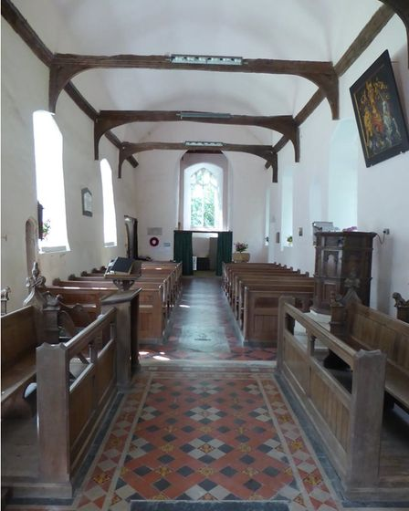 St Mary in Nettlestead was previously damaged during the Second World War when a stray bomb almost destroyed the church.