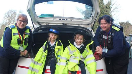 Pupils at King's Ely Acremont were taught a lesson in safety