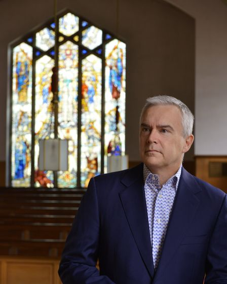 BBC newsreader Huw Edwards, who is vice president of The National Churches Trust