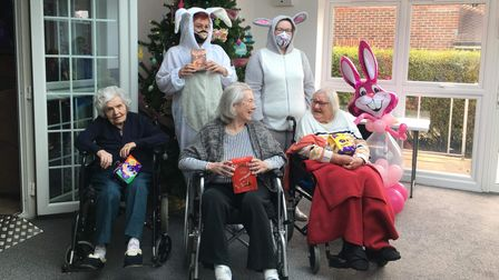 Dunmow And Surrounding Areas Pay It Forward bunnies delivered a chocolate treat
