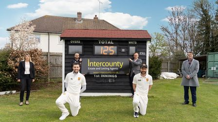 Intercounty is in partnership with Dunmow Cricket Club, which is celebrating 125 years