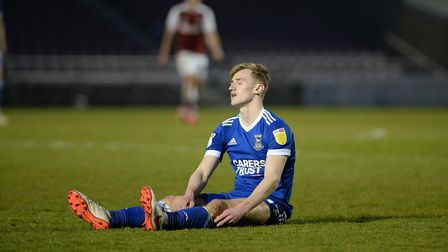 Flynn Downes is disappointed at Northampton Town