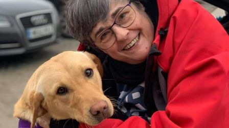 Philippa Sjoberg will be fundraising for the charity Dogs for Autism