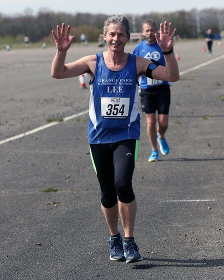Lee Prowse ofGrange Farm & Dunmow Runners