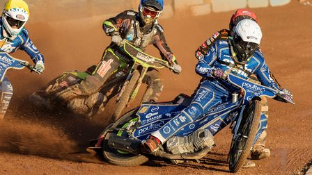 Craig Cook helped get King's Lynn Stars off to a flying start against Ipswich Witches