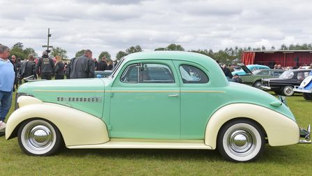 Knuckle Busters car show at Stonham Barns Aug 29th 2020