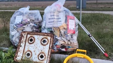 Ely Litter Pickers litter bag East Cambs