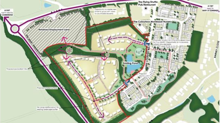 Plans to build homes at what was to be a major research park in Haverhill have got the go-ahead on appeal
