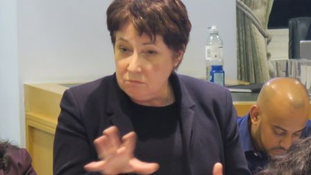 """Cllr Candida Ronald... """"waitingfor decisions on how funding mightaffectour recovery""""."""