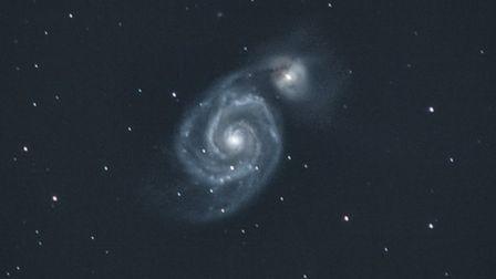 Whirlpool Galaxy Messier catalogue  - m51 whirlpool credit ra - Whittlesey photographer captures stunning shots of space