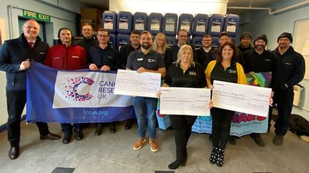 Soham-based family business Witham Oil & Paint raised £10,000 for charities at their 2020 fundraiser.