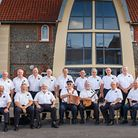 Sheringham Shantymen who are gearing up for the final concert celebrating their 25th anniversary. Pi