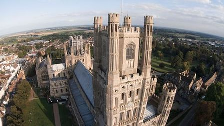 West and Octagon Towers Ely Cathedral