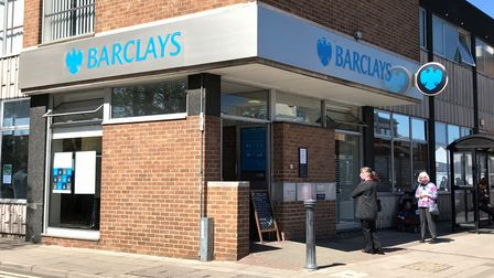 Barclays Bank on Broad Street, March has closed its doors today (July 23) - the third Fenland branch to do so in two years.