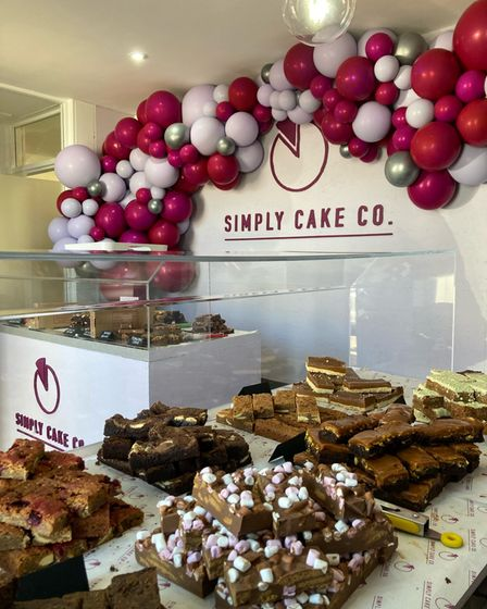The Simply Cake Co shop in King's Lynn has opened.